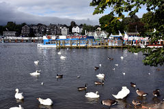 Bowness on Windermere Royalty Free Stock Photo