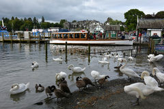 Bowness on Windermere Stock Photo