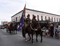 Tulip Time Street Parade in Bowral, Australia stock images