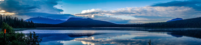 Bowron Lakes View Stock Photos