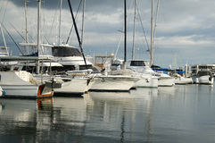 Bows Of Boats Stock Image