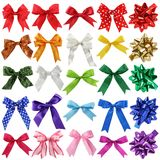 Bows collection stock photography