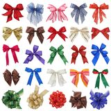 Bows collection Stock Images