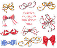 10 bows Royalty Free Stock Image