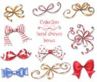 10 bows Royalty Free Stock Image