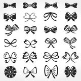 Bows Icons Royalty Free Stock Photos