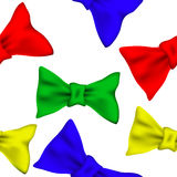 Bows pattern Royalty Free Stock Photography