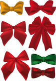Bows and ribbons Stock Image