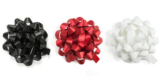 Bows of ribbons Stock Photo