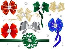 Bows and ribbons stock illustration