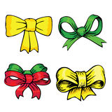 Bows and ribbons Stock Photography
