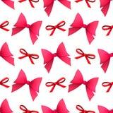 Bows seamless pattern Royalty Free Stock Photo