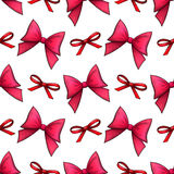 Bows seamless pattern Royalty Free Stock Photography