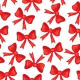 Bows seamless pattern Stock Photo