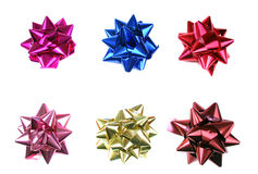 Bows set Stock Images