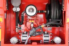 bowser控制板汽油移动电话 免版税库存照片