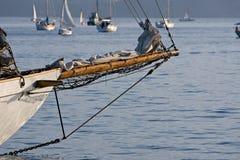 bowsprit κλασικό sailboat χειροτεχνία&si Στοκ φωτογραφία με δικαίωμα ελεύθερης χρήσης