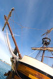Bowsprit of pirate ship Stock Photography