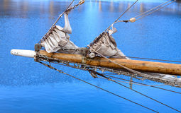 Bowsprit of a sailing vessel Royalty Free Stock Photos