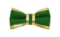 Bowtie. Photo of a Green Bowtie - St. Patricks Day Object Stock Photography