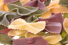 bowtie isolated organic pasta shaped стоковое фото rf