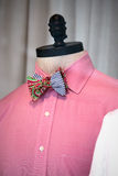 Bowtie on a mannequin Royalty Free Stock Photo