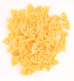 Bowtie Pasta Royalty Free Stock Photos