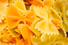 Bowtie pasta Royalty Free Stock Photography