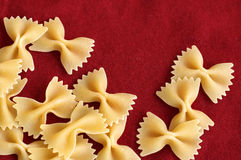 Bowtie pasta Stock Photos