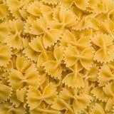 Bowtie pasta background stock photos