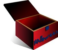 The Box Royalty Free Stock Photo