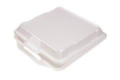 Box. Styrofoam container Stock Photo