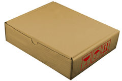 Box 3 brown Stock Image