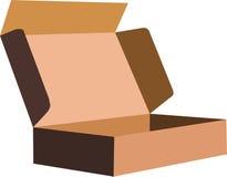 Box. Vector  image of a packing box Royalty Free Stock Photos
