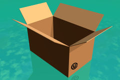 Box. Royalty Free Stock Photos