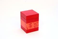 Box. Red hanji box Stock Image