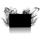 Box. 3d render of a box and prop Royalty Free Stock Image