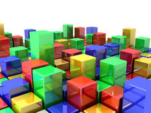 Box Abstract Background Stock Image