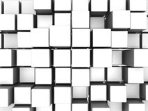 Box Abstract Background. 3D image of box abstract background Stock Image