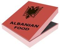 Box Albanian food Stock Photos