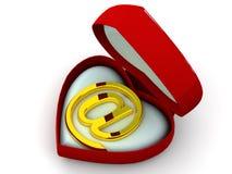 Box As Heart Stock Photos