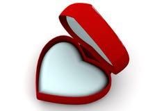 Box As Heart Stock Photography