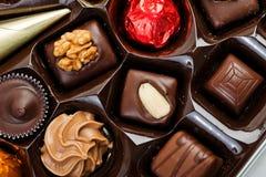 Box of Assorted Chocolates Stock Photos
