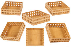 Box of bamboo Royalty Free Stock Photography