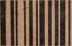 Box bar code Stock Photography