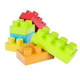 Box of bricks Royalty Free Stock Image