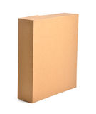 box brown arkivfoto