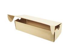 box brown Fotografering för Bildbyråer