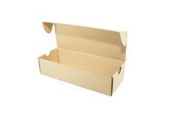 box brown Arkivbild