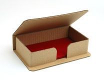 Box for business cards. Stock Photography